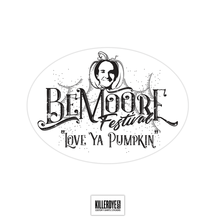 Be Moore Fest - Sticker