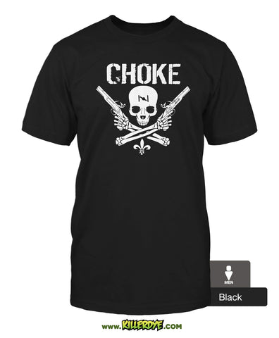 "Choke ""Skull & Guns"" - T-Shirt - Men's"