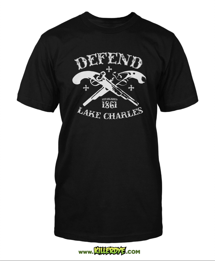 Defend Lake Charles - Original Design - T-Shirt - Mens