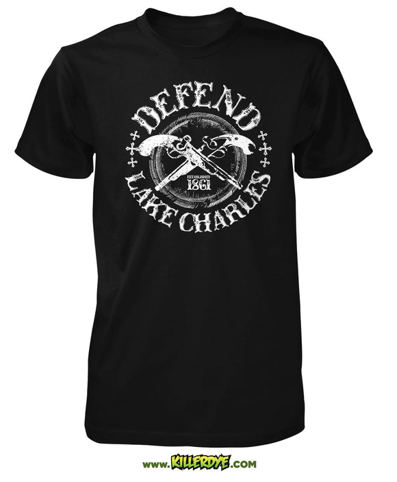 Defend Lake Charles T-Shirt - Mens - KillerDye T-Shirts