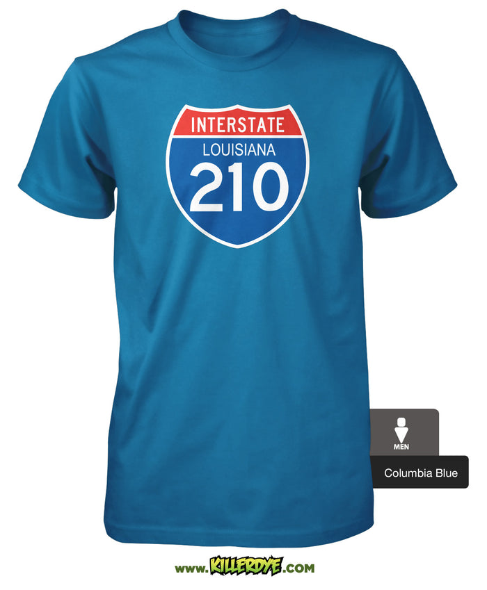 Interstate - I-210 Loop - Louisiana T-Shirt
