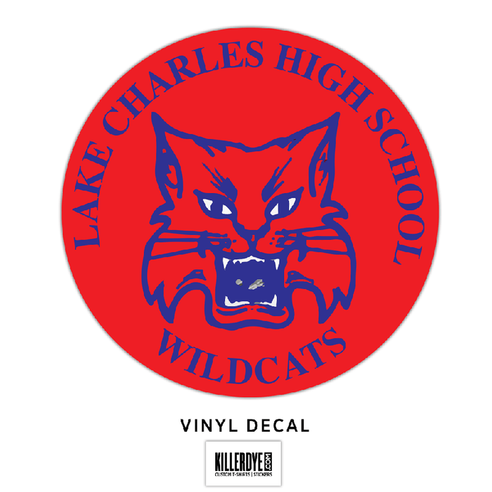 Lake Charles High School - Wildcats - Decal
