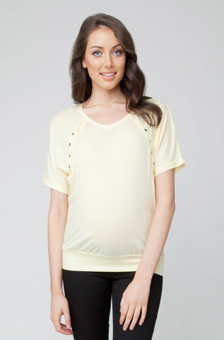 Batwing Nursing Tee- Multiple Colours