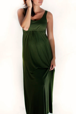 Larrivo :: Ying Maxi Nursing & Pregnancy Dress available from Nourishing Apparel