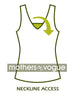 Mothers En Vogue : Neckline access