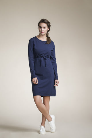 B-Warmer Dress- Navy