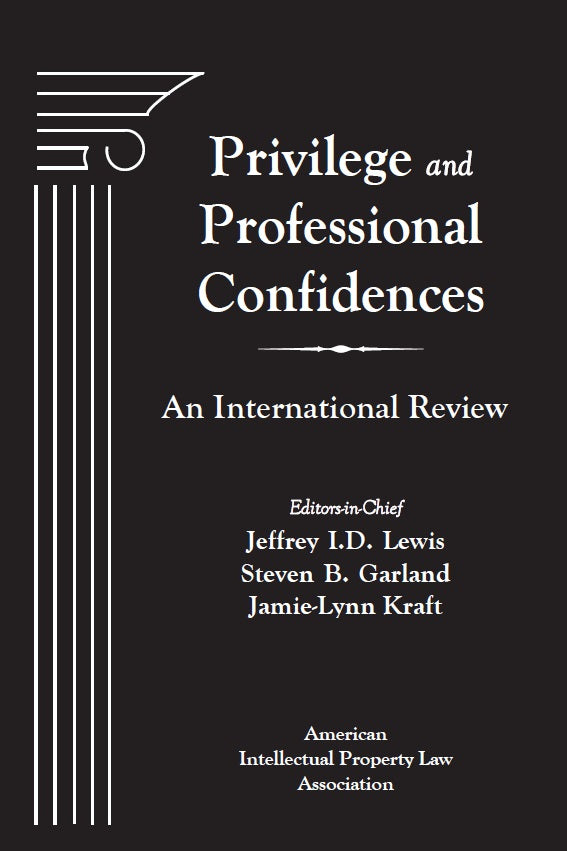 Privilege and Professional Confidences: An International Review