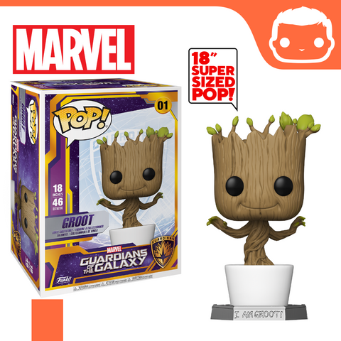 "#1 - Marvel - 18"" Dancing Groot"