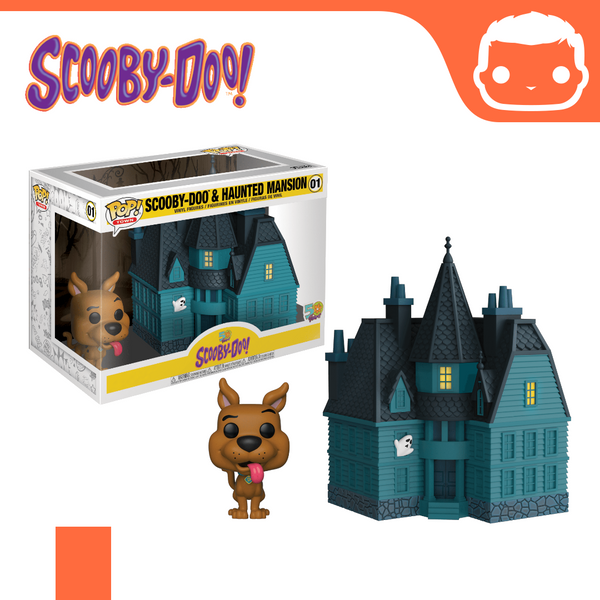 #1 - Scooby-Doo & Haunted Mansion [Box Damaged]