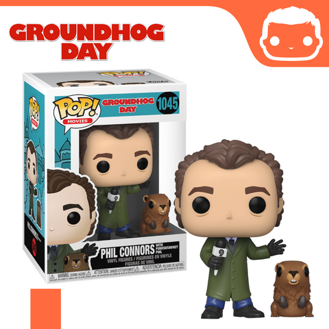 #1045 - Groundhog Day - Phil Connors With Punxsutawney Phil [Pre-Order]