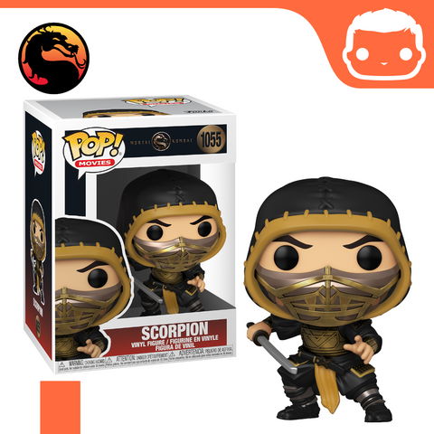 #1055 - Mortal Kombat - Scorpion - Box of 6 - Guaranteed Chase! [Pre-Order]