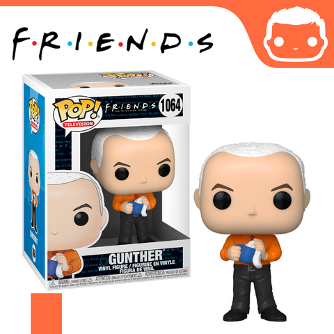 #1064 - Friends - Gunther - Box of 6 - Guaranteed Chase! [Pre-Order]