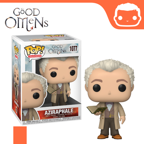 #1077 - Good Omens - Aziraphale - Box of 6 - Guaranteed Chase! [Pre-Order]