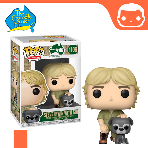 #1105 - Crocodile Hunter - Steve Irwin With Sui [Pre-Order]
