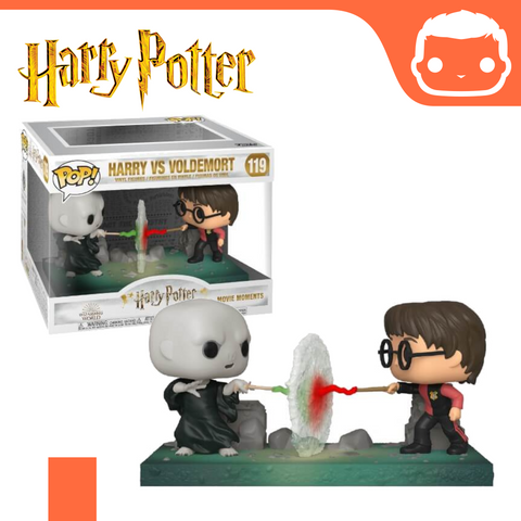 #119 - Harry Potter - Harry Vs Voldemort Movie Moment [Pre-Order]