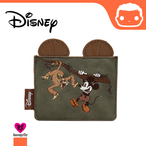 Loungefly Disney Mickey Mouse Safari Cardholder - BoxLunch Exclusive