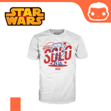 Funko T-Shirt - Size: L - Star Wars - Han Going Solo