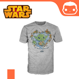 Funko T-Shirt - Size: M - Star Wars - Be Mine Yoda