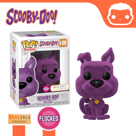 #149 - Scooby Doo - Purple Flocked - Box Lunch Exclusive [Damaged]