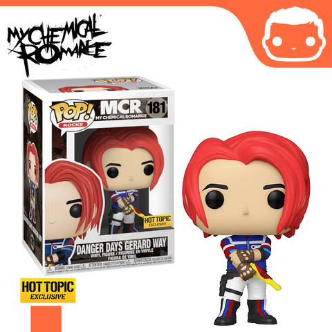 #181 - My Chemical Romance - Danger Days Gerard Way - Hot Topic Exclusive
