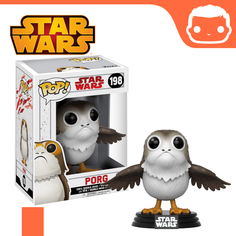 #198 - Star Wars - Porg (Opened Wings)