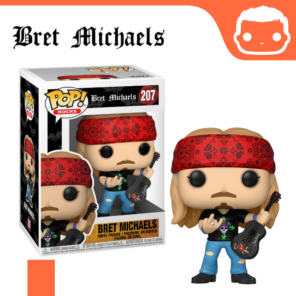 #207 - Bret Michaels - Box of 6 - Guaranteed Chase! [Pre-Order]