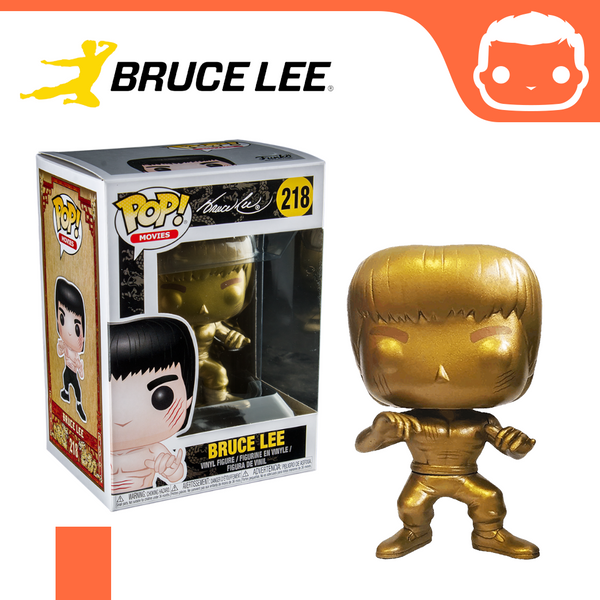 #218 - Bruce Lee - Enter The Dragon (Gold) Exclusive [Damaged]