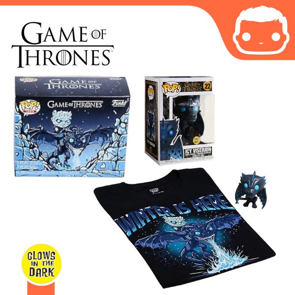 #22 - Game Of Thrones - Icy Viserion & T-Shirt [Medium] Box - Exclusive