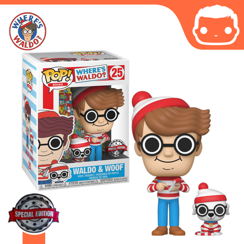 #25 - Wheres Waldo - Waldo and Woof Exclusive