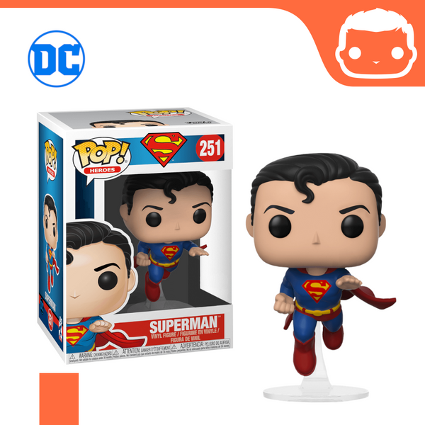 #251 - Superman - Flying Superman 80th Anniversary