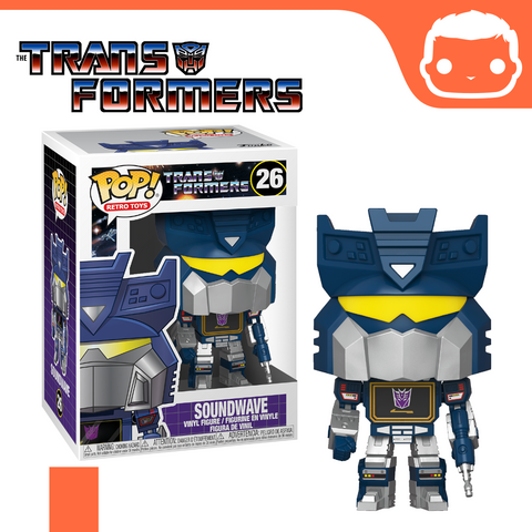 #26 - Transformers - Soundwave