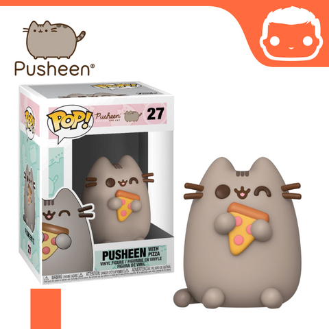 #27 - Pusheen With Pizza