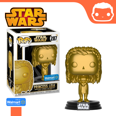 #287 - Star Wars - Princess Leia - Gold Walmart Exclusive