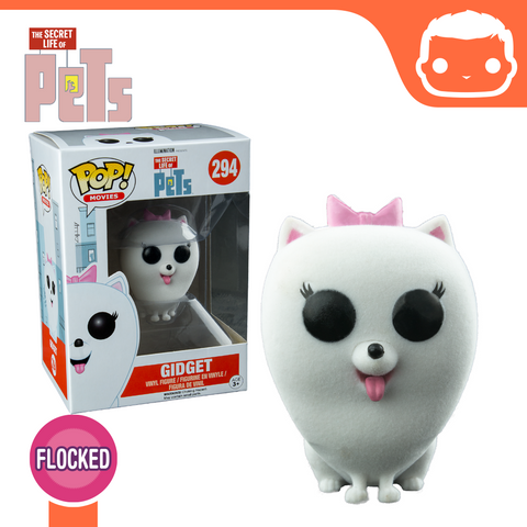 #294 - The Secret Life Of Pets - Flocked Gidget - Underground Toys Exclusive