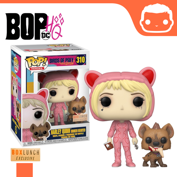 #310 - Birds of Prey - Harley Quinn - (Broken Hearted) - BoxLunch Exclusive