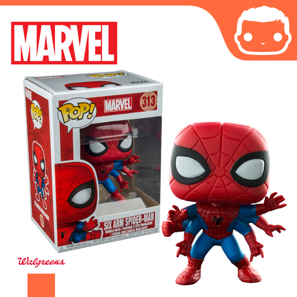#313 - Six-Arm Spider-Man - Walgreens Exclusive [Damaged]