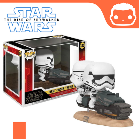 #320 - Star Wars - Episode IX - First Order Tread Speeder Movie Moment