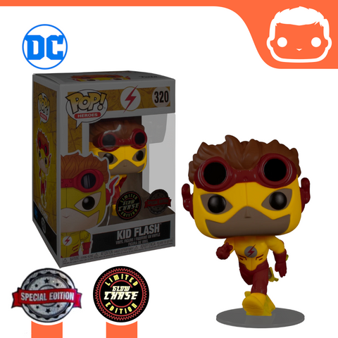 #320 - DC Universe - Kid Flash - Exclusive