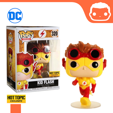 #320 - DC Universe - Kid Flash - Hot Topic Exclusive