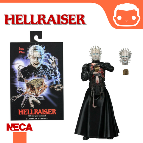 NECA - Hellraiser – 7″ Scale Action Figure – Ultimate Pinhead
