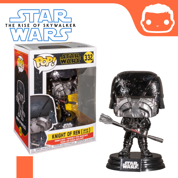 #332 - Star Wars - Knight of Ren - War Club (Chrome) - Exclusive