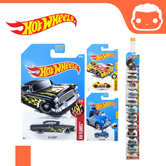 Hot Wheels - Random Basic Car - (Long Card Variation)