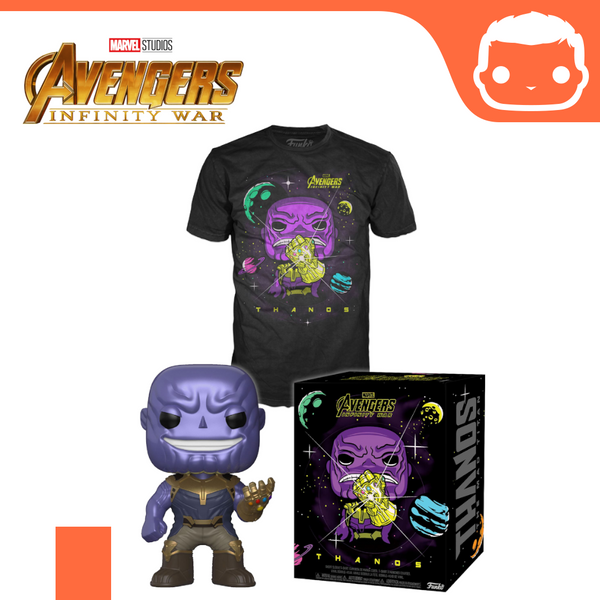 Avengers Infinity War POP! & Tee Box Thanos [Extra-Large]