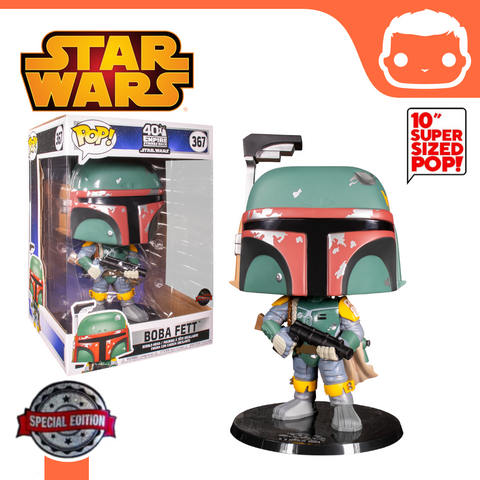 "#367 - Star Wars - Boba Fett ESB 10"" Exclusive"