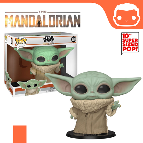 "#369 - The Mandalorian - The Child 10"" Supersized Exclusive"