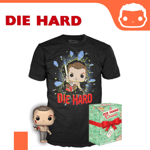 Die Hard POP! & Tee Box John McClane [Medium]