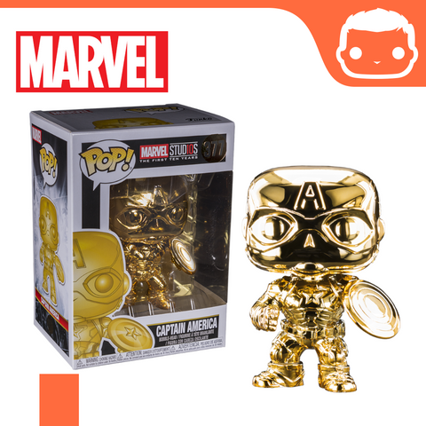 #377 - Marvel - Captain America Gold Chrome Exclusive