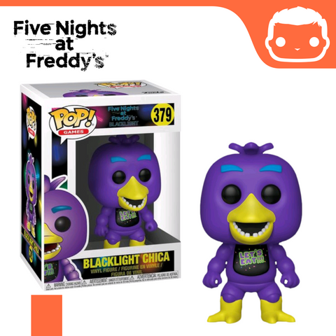 #379 - Five Nights at Freddys - Blacklight Chica Exclusive