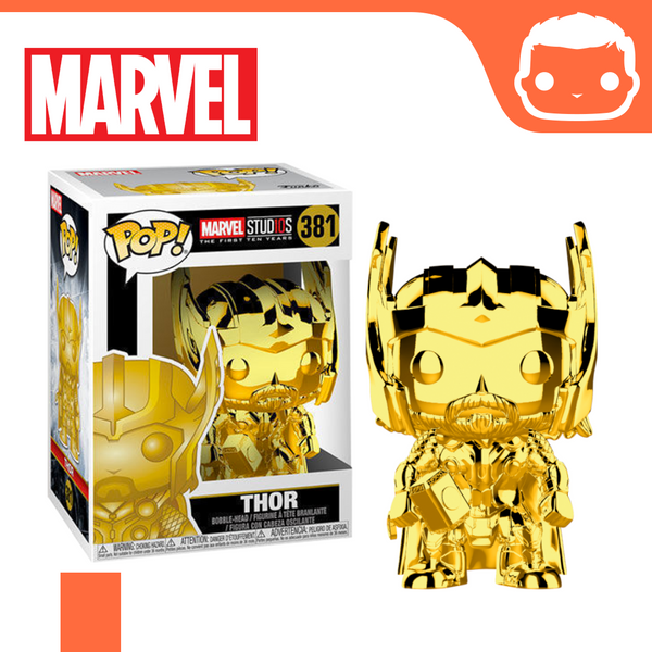 #381 - Marvel - Thor Gold Chrome Exclusive