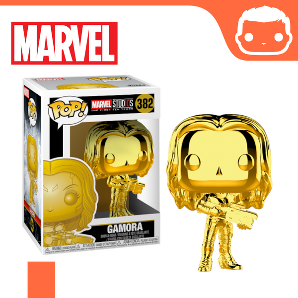#382 - Marvel - Gamora Gold Chrome Exclusive